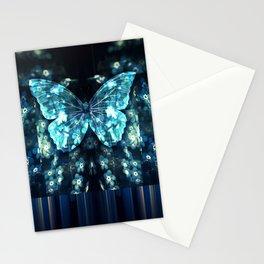 ButterFly Glitch Stationery Cards