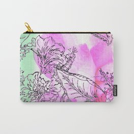 The Rose Party Carry-All Pouch