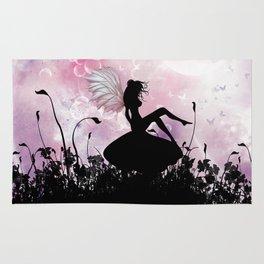 Fairy Silhouette Rug