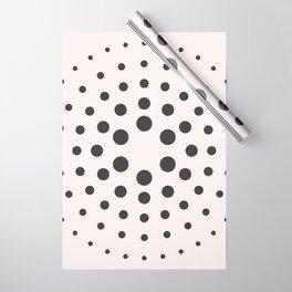Mid-Century Modern Art - Bubblegum Spiral Dots Wrapping Paper
