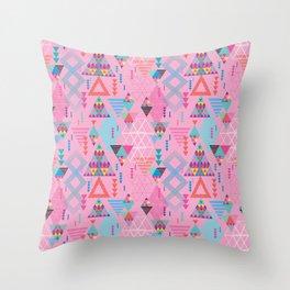 GeoTribal Pattern #008 Throw Pillow