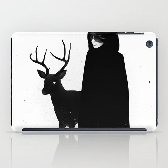 Absentia in white iPad Case