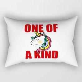 one of a kind unicorn Rectangular Pillow