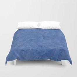 Light Blue Stucco Duvet Cover