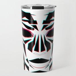 Ancient Face Travel Mug