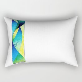 #14 - Message in a bottle Rectangular Pillow