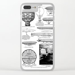 Airships / Air Balloons II Clear iPhone Case