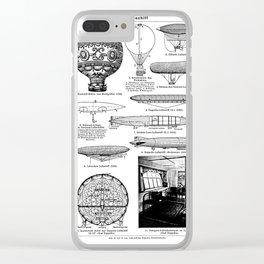 Airships / Air Balloons II Clear iPhone Case