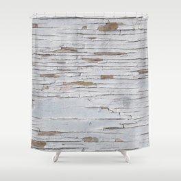 Peeling Paint 03 Shower Curtain