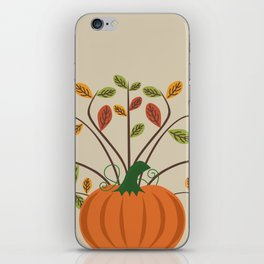 Fall Pumpkin iPhone Skin
