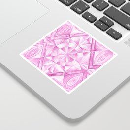 Cobalt Violet Pattern Sticker