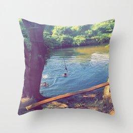 Goose Creek Throw Pillow