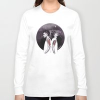 cyrilliart Long Sleeve T-shirts featuring The Tiger and The Stag by Cyrilliart