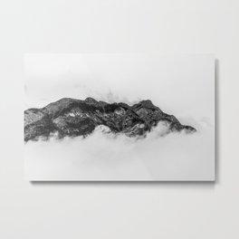 Island on clouds Metal Print