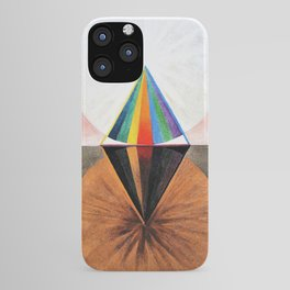Hilma af Klint - The Swan, No.12, Group IX/SUW - Digital Remastered Edition iPhone Case