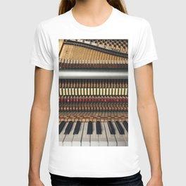 Piano inside T-shirt