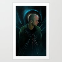 halo Art Prints featuring Halo by Varis