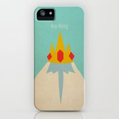 Minimalist Adventure Time Ice King iPhone (5, 5s) Slim Case