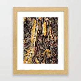 A Component of Elements Framed Art Print