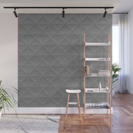 gray grid Wall Mural