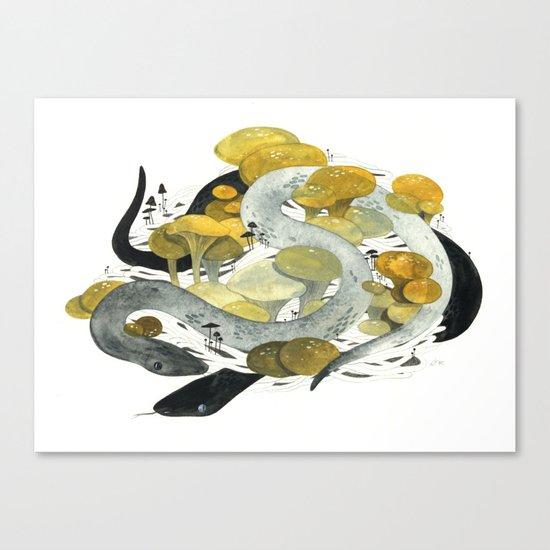 Den Canvas Print