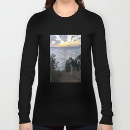 Wolfie the Siberian Husky No.2 Long Sleeve T-shirt