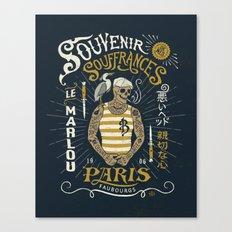 Le Marlou Canvas Print