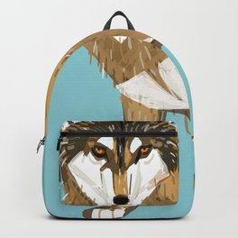 European Grey Wolf Backpack