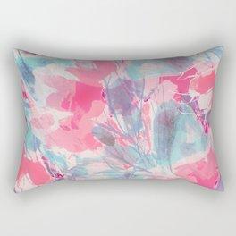 Peach Willows Rectangular Pillow