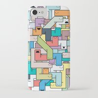college iPhone & iPod Cases featuring College Daze by Grant Reitz