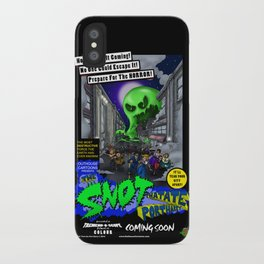 The Snot That Ate Port Harry poster iPhone Case