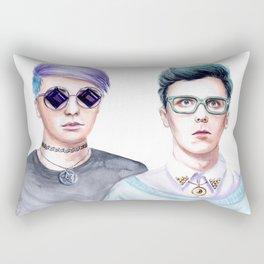 Pastel edits Rectangular Pillow