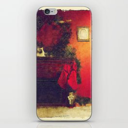 By The Chimney With Care iPhone Skin