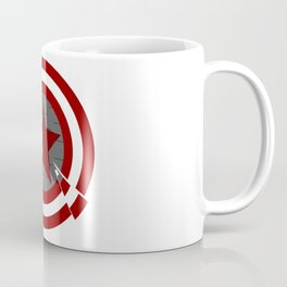 grey Shield Coffee Mug