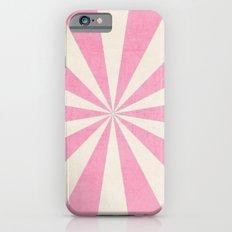 pink starburst iPhone 6 Slim Case