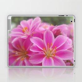 Tina's Garden: Pink Flower Laptop & iPad Skin