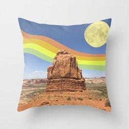 Canyon Land Throw Pillow