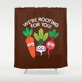Motivegetable Speakers Shower Curtain