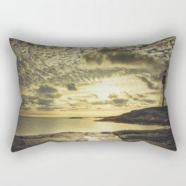 Good night sweet sun Rectangular Pillow
