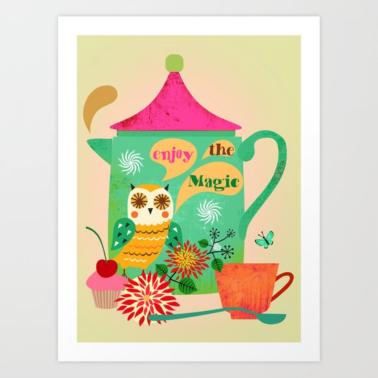 Enjoy the Magic Art Print