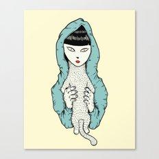 Strange Cathy Canvas Print