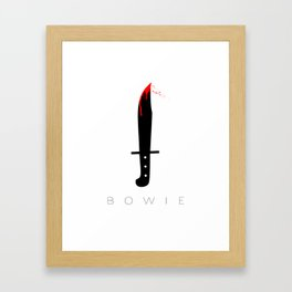 Bowie Knife Framed Art Print