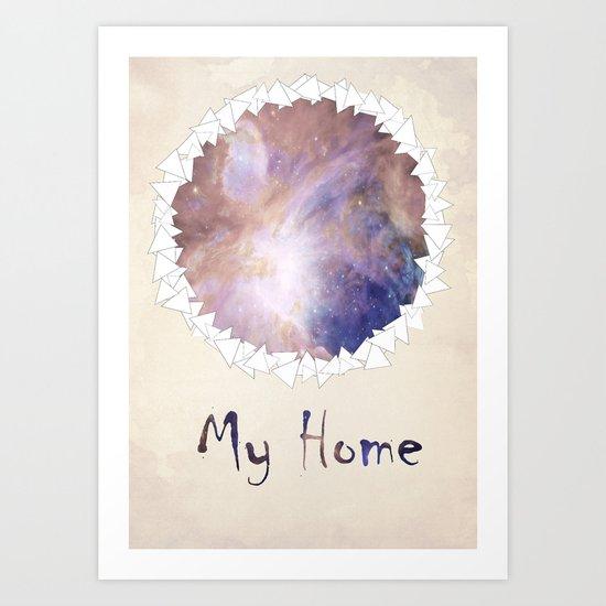MY HOME Art Print