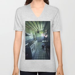 Tentacle Invasion Unisex V-Neck