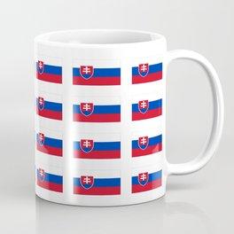 flag of slovakia -,Slovak,Slovensko,Eslovaquia,eslovaco, Czechoslovakia, Bratislava, Košice Coffee Mug