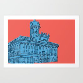 St. Lawrence Hall Art Print