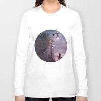 italian Long Sleeve T-shirts featuring ITALIAN LOVE by INA FineArt