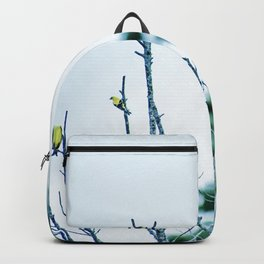Six Finches in a Tree Backpack