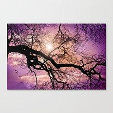 SILENT TREE Canvas Print
