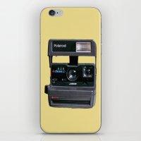 polaroid iPhone & iPod Skins featuring Polaroid  by Dora Birgis